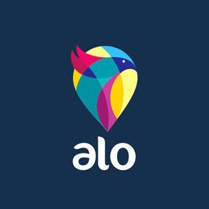 Logos coloridos Alo