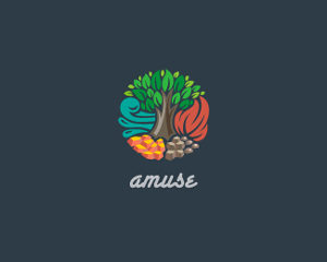 Logos coloridos Amuse