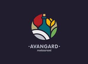 Logos coloridos Avangard