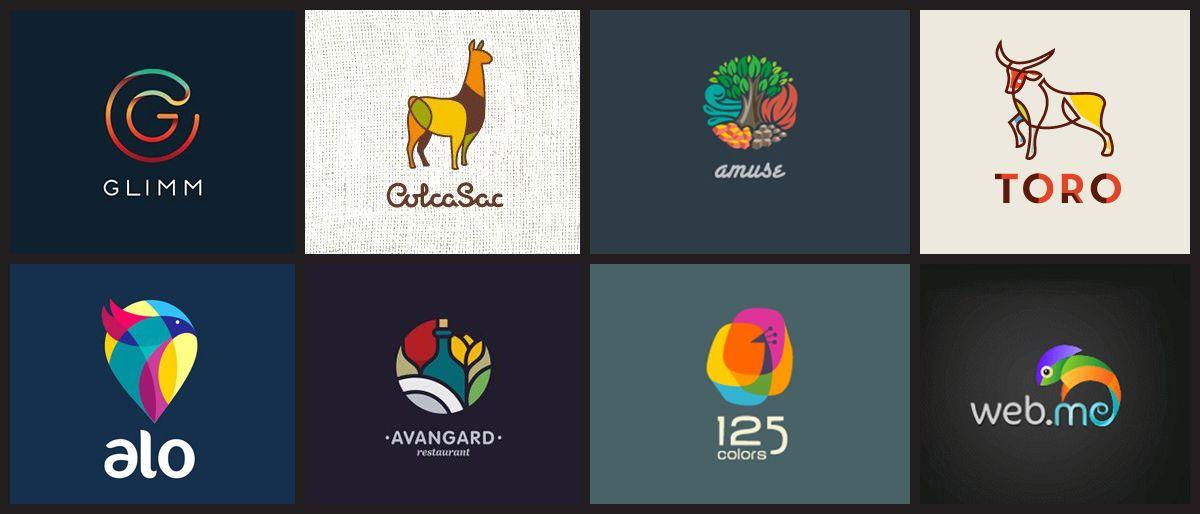 Logotipos Coloridos Inspiração