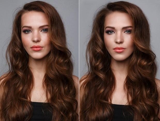 Volume dos cabelos