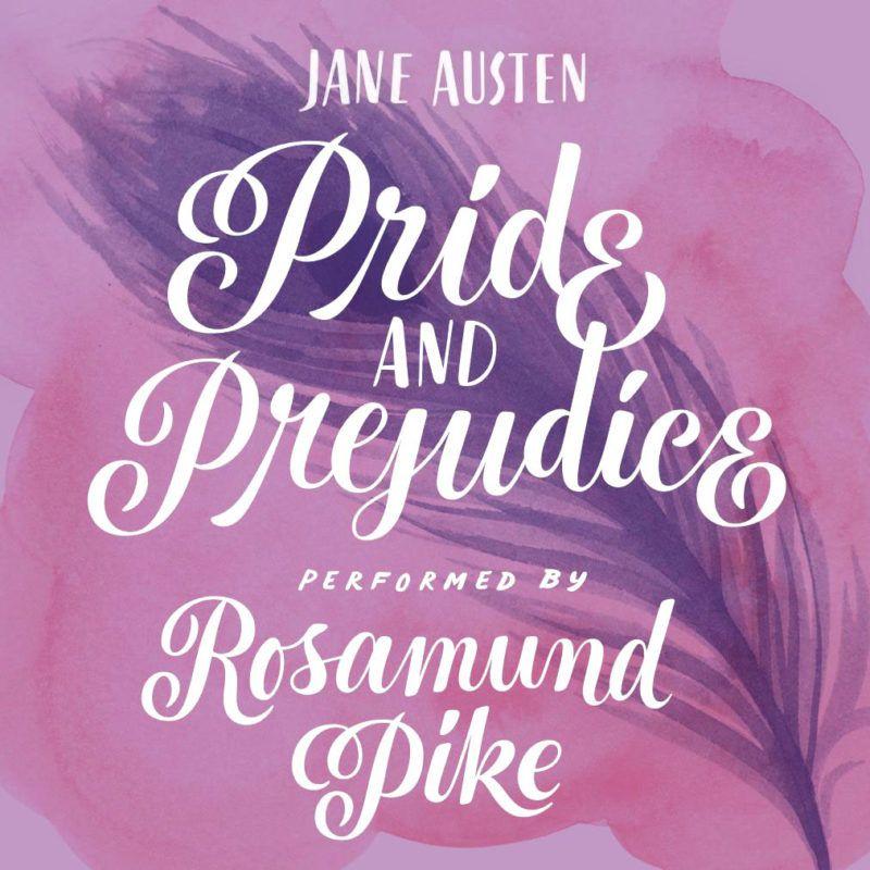 tipografia ilustração e design jessica hische capa audiobook jane austen orgulho e preconceito