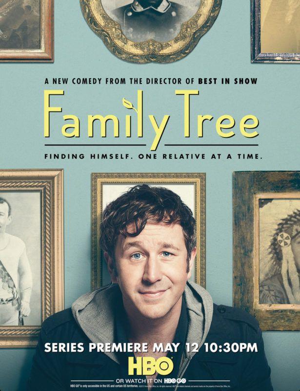 tipografia ilustração e design jessica hische cartaz série hbo family tree
