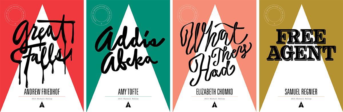 tipografia ilustração e design jessica hische cartazes concurso roteiro de cinema