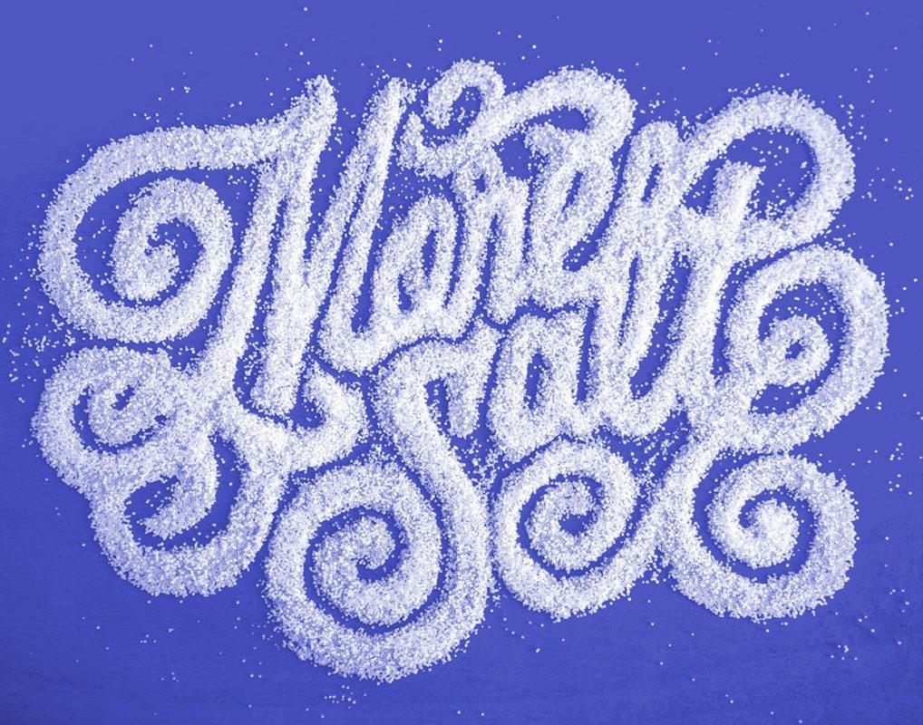 tipografia ilustração e design jessica hische tipografia com sal