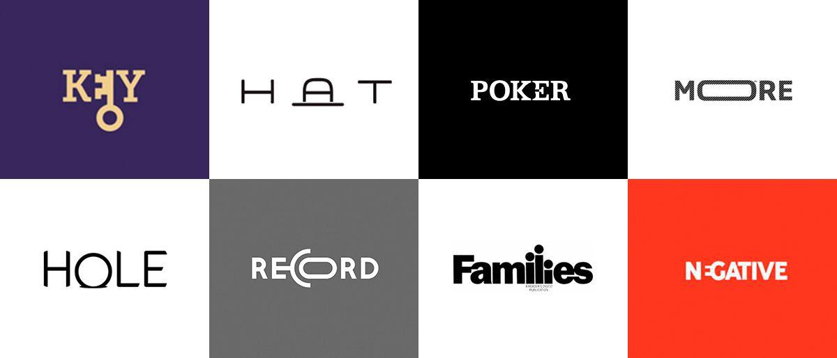 logotipos criativos minimalistas