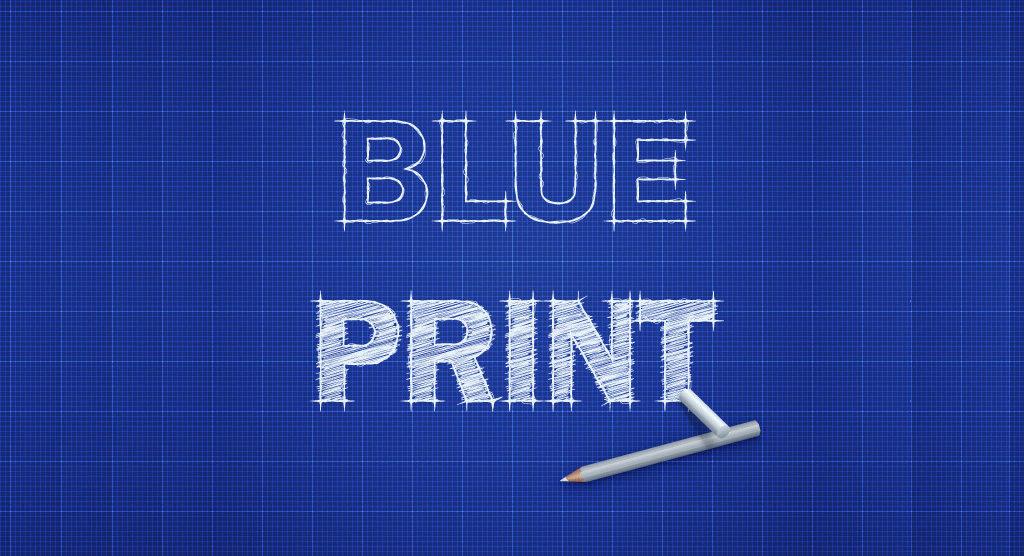 efeito-texto-photoshop-letras-blue-print