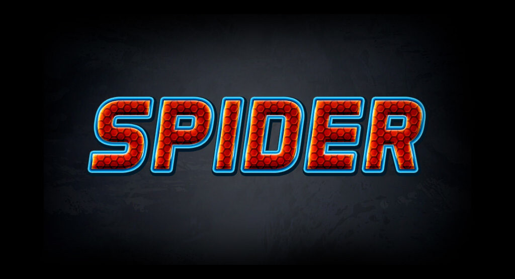 efeito-texto-photoshop-letras-spider-man