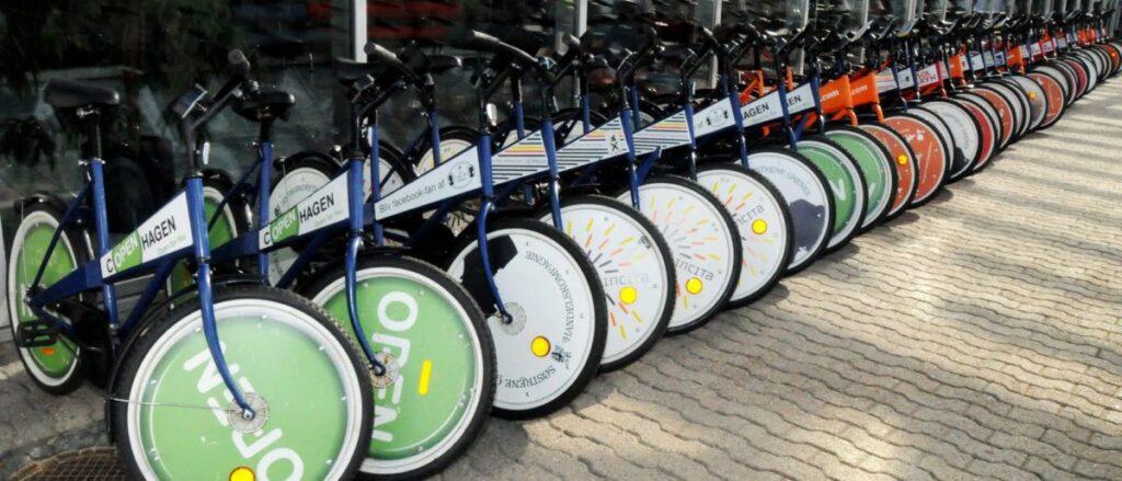 Estacionamento de bicicletas