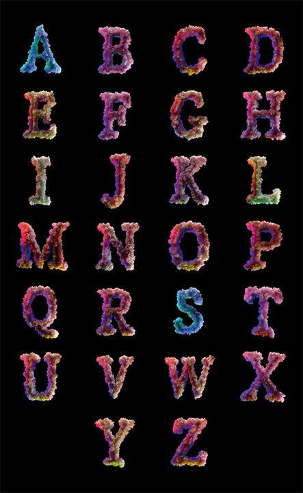 tipografias-diferentes-alfabeto-coralet