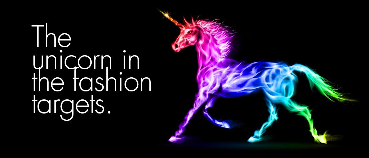 moda do unicornio