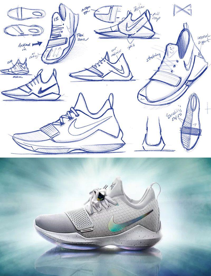 Protótipo Conceito de um Tênis Nike