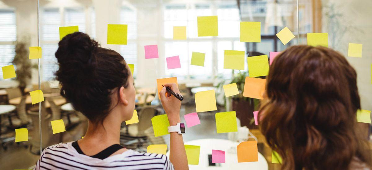 Design Thinking - Ideação com Postits