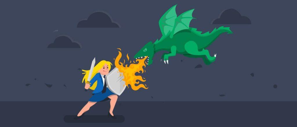 Defesa de marca - dragão