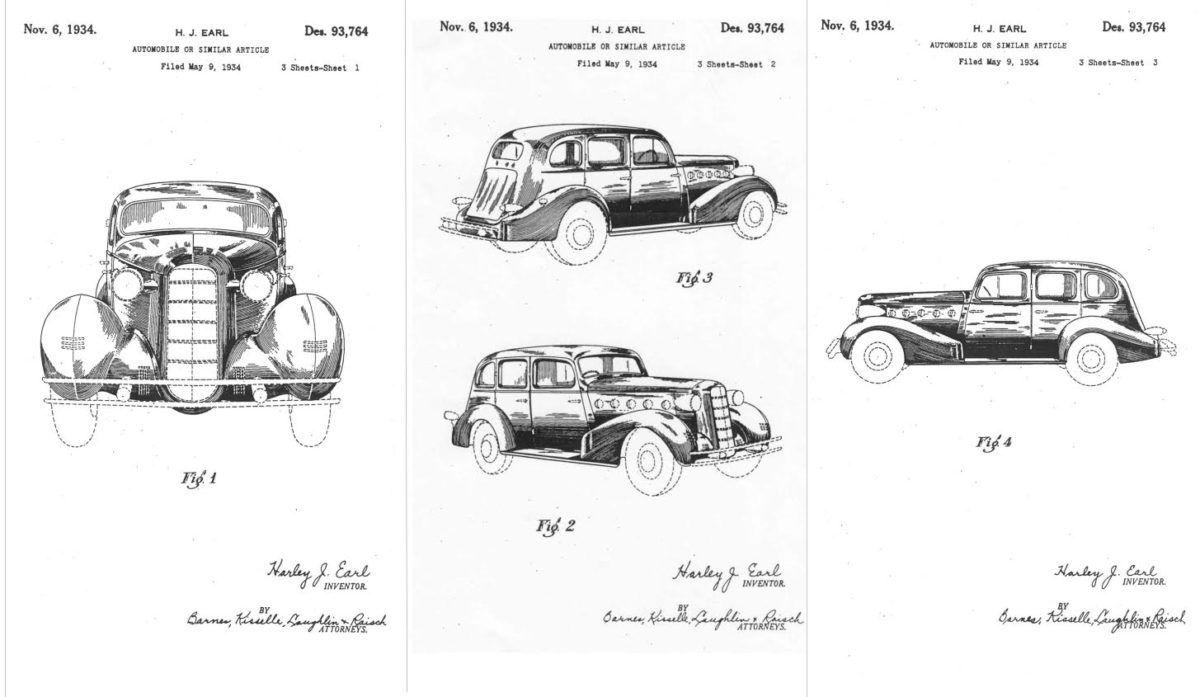 Design de carros - Harley Earl 01