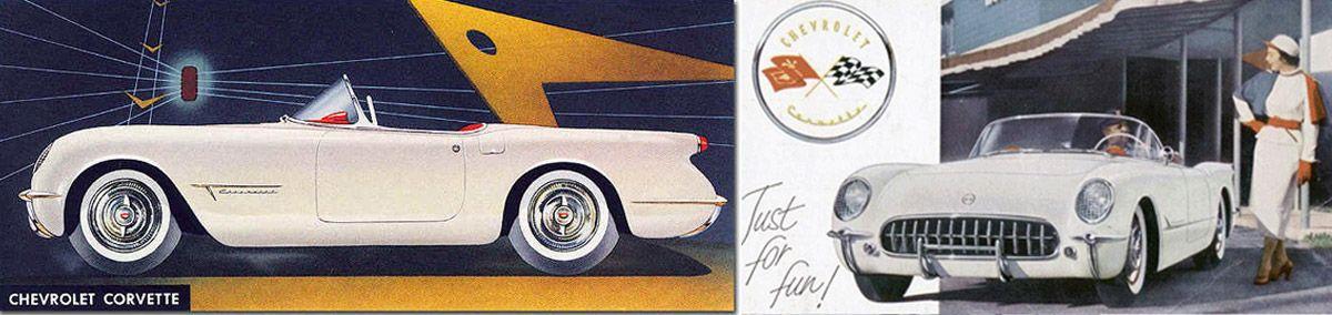 Design de carros - Harley Earl - Corvette