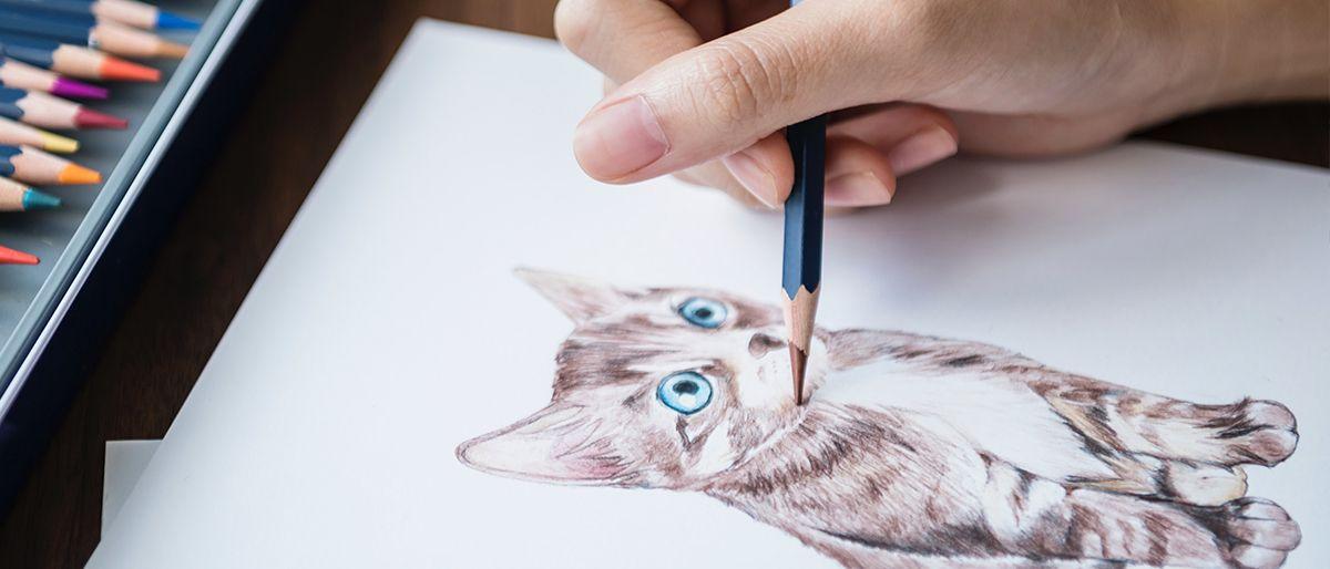 Estilo de traço - Gato