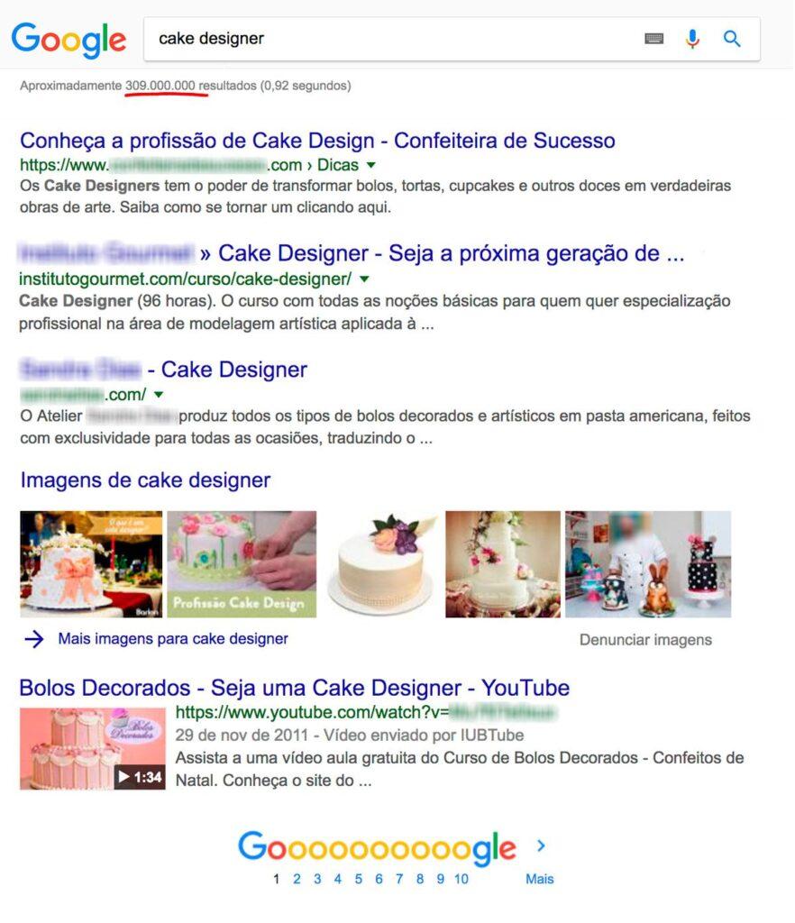 Google - Cake Designer