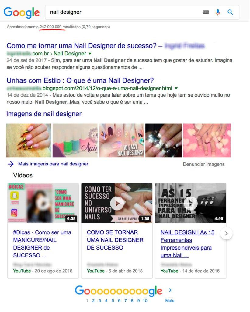 Google - Nail Designer