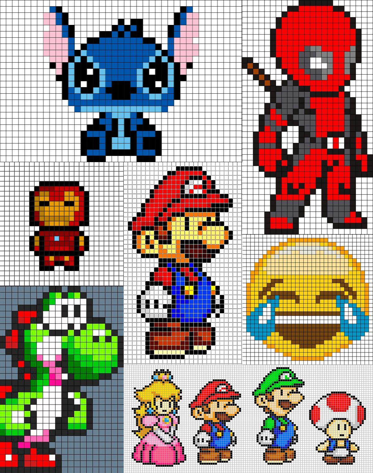 blog pixel art exemplos