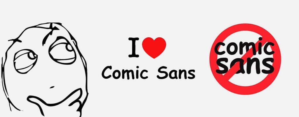 comic sans - feeling