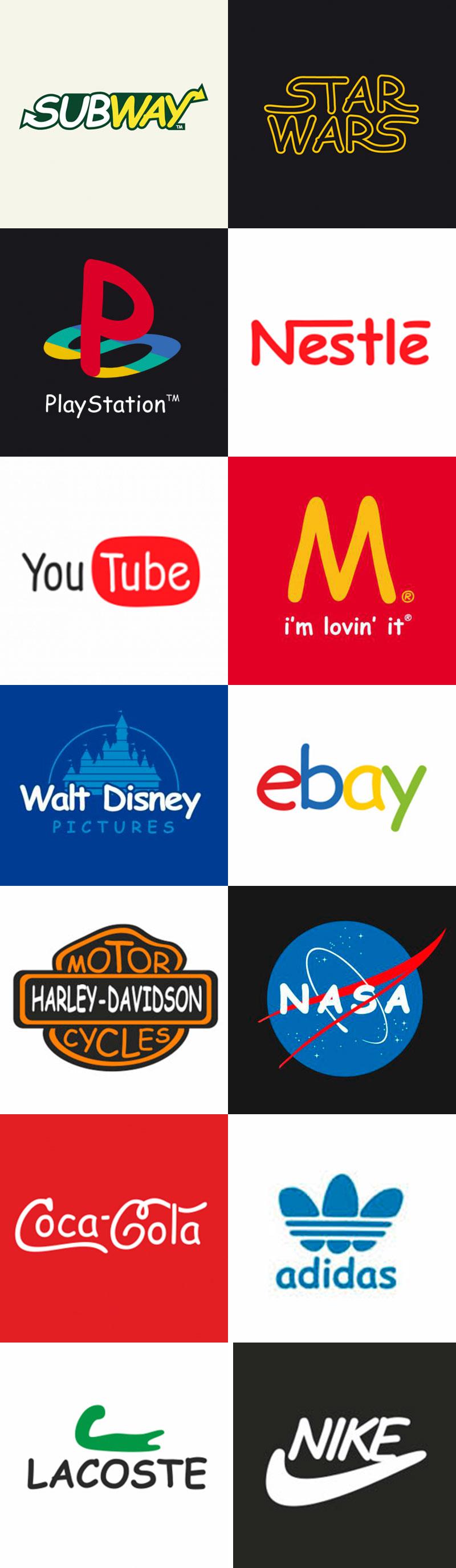 comic sans - logotipos