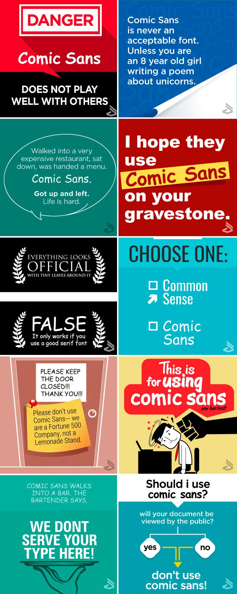 comic sans - memes