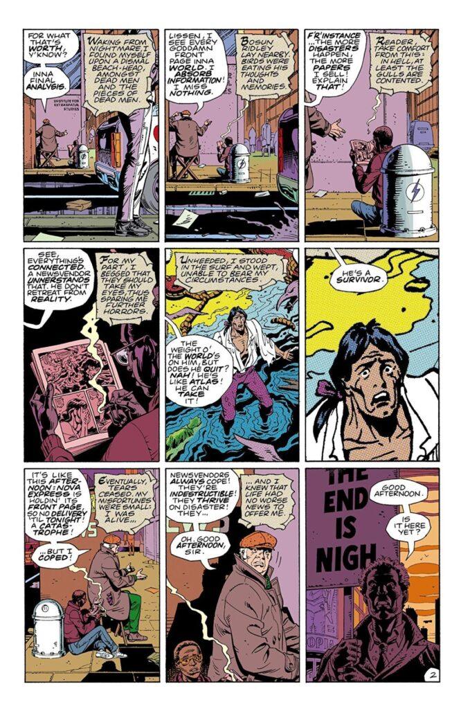 comic sans -Watchmen