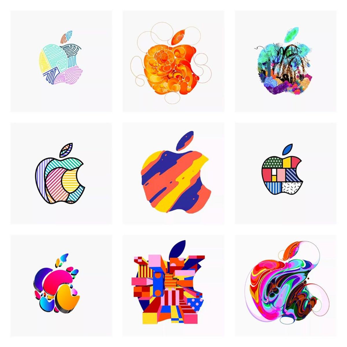 Tendências para logo design - Apple