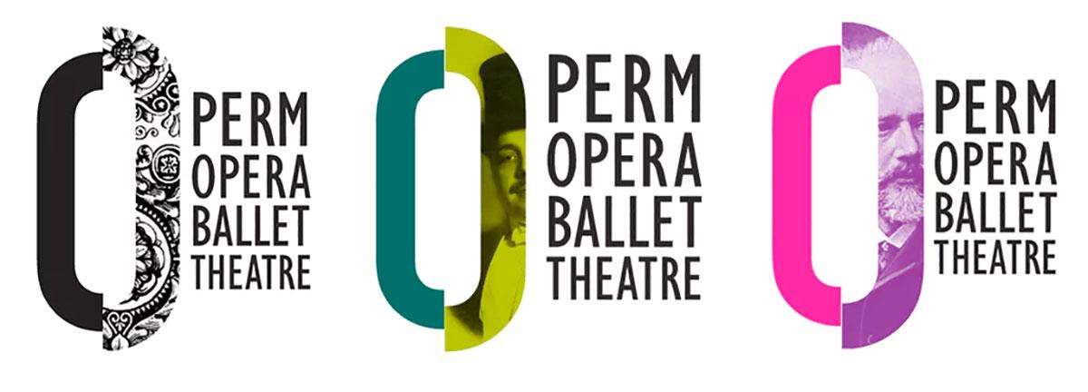 Tendências para logo design - Perm Opera Ballet Theatre