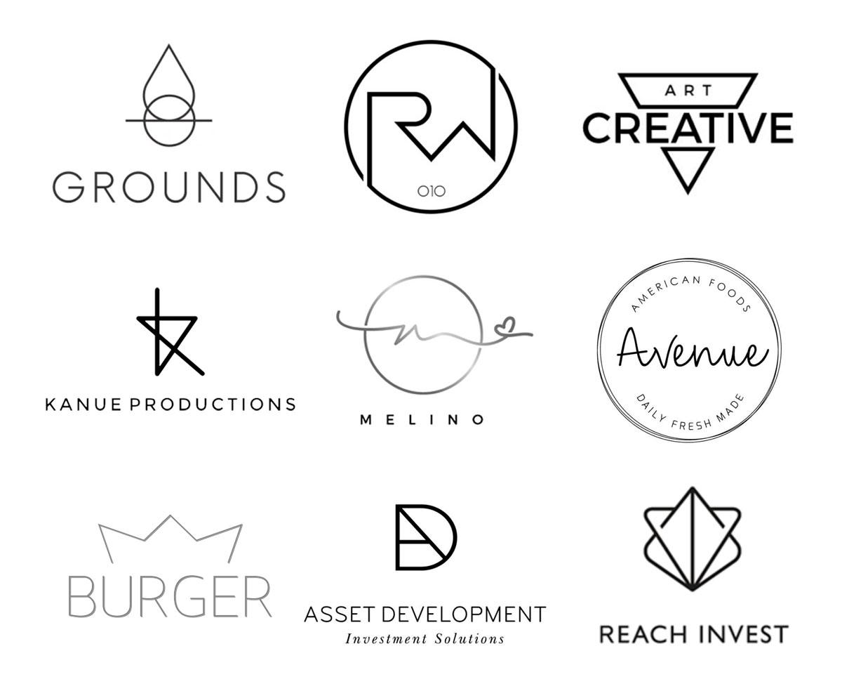 Tendências para logo design - Minimalismo Extremo