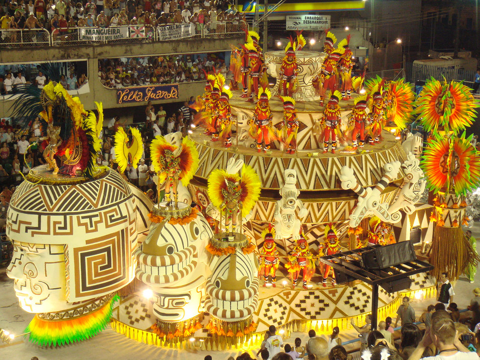 Carnaval e Design - Carro Alegórico 3