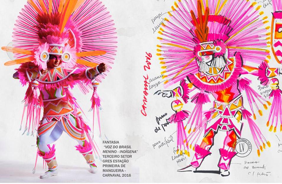 Carnaval e Design - Fantasia 1