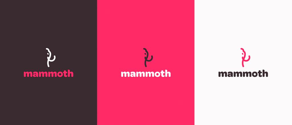 logotipo mammoth